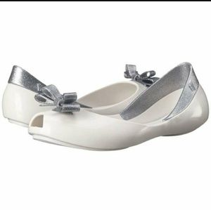 Mini Melissa Shoes - Mini Melissa Mel Queen Mel Queen Ballet Flats 3Y